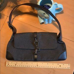 Gucci blue jean shoulder bag